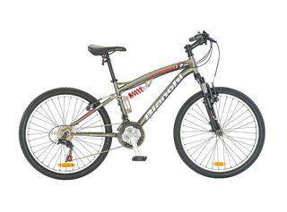 Bicicleta MTB Hombre Bianchi Wolf DSX Aro 24 Doble Suspensión,Gris,hi-res
