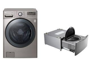 Lavadora Secadora Frontal LG Wd22vvs6 22Kg/11Kg + LG TWINWash™ Mini WD100CV 3,5 Kg,,hi-res
