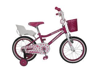 Bicicleta Aprendizaje Niña Avalanche Princess Aro 16 Hasta 120 cm,Rosado,hi-res