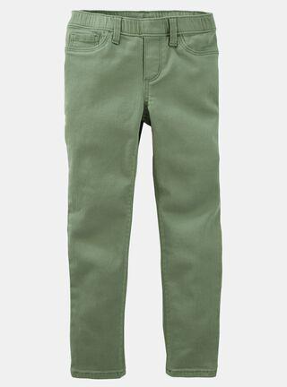 Pantalón Niña 4 A 14 Años OshKosh B'Gosh,Verde Olivo,hi-res