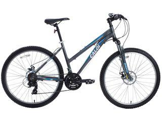 Bicicleta MTB Caloi Supra 10 Gris Aro 26 Freno Disco,Gris,hi-res