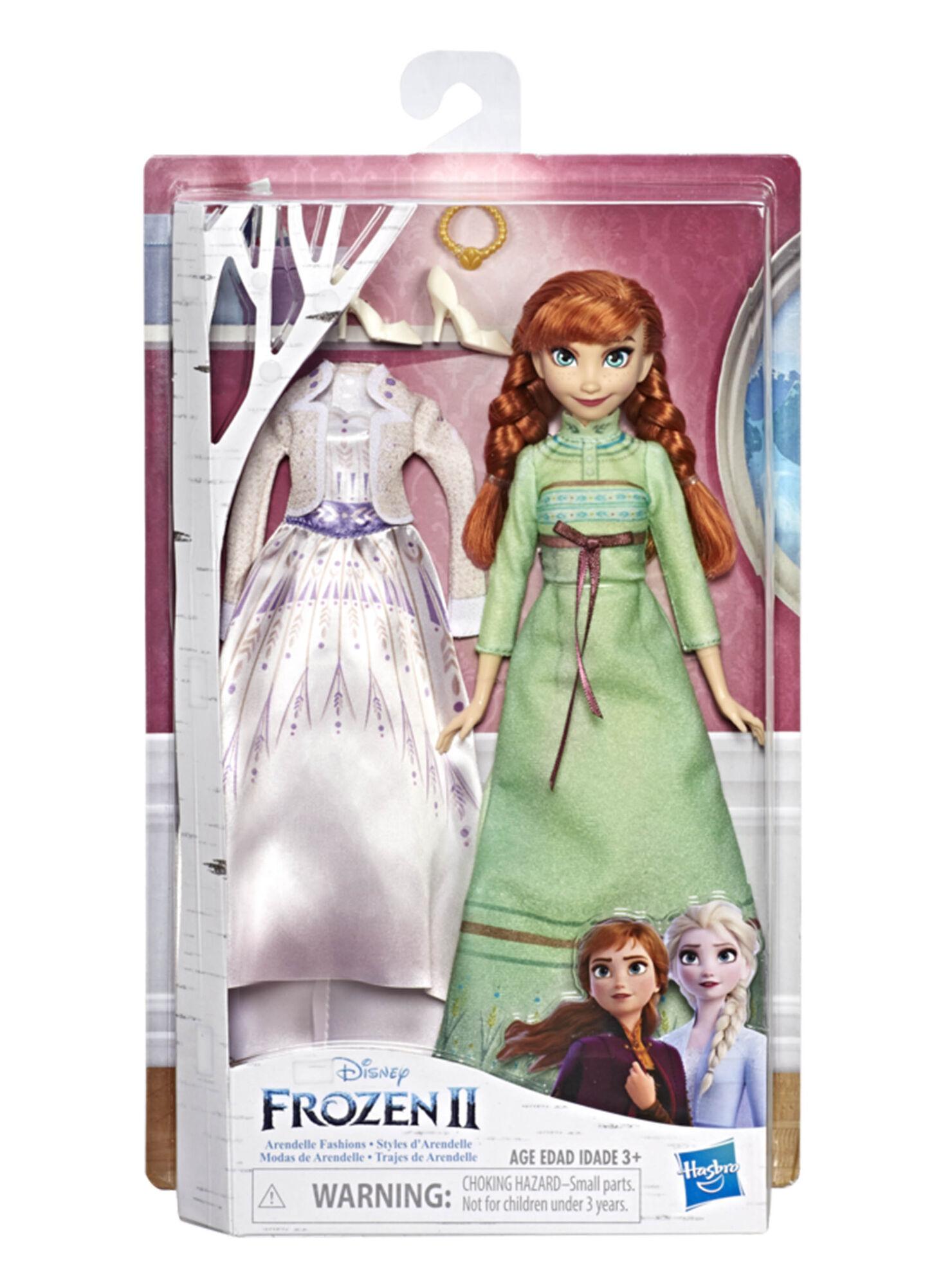 Disney Frozen 2 Muñeca Anna Con 2 Vestimentas En Muñecas Y