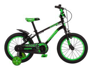 Bicicleta de Paseo Mongoose Dendy Aro 12,Negro,hi-res