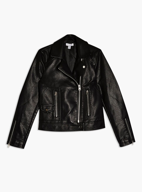 Chaqueta%20Faux%20Leather%20PU%20Topshop%2C%C3%9Anico%20Color%2Chi-res