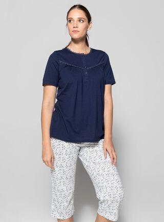 Pijama Bàsica Viaressa,Azul Marino,hi-res