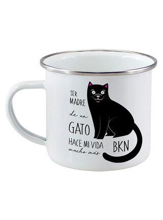Tazón Cerámico PetFy Gato,Negro,hi-res