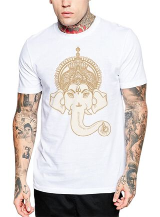Polera Ganesha Get Out,Blanco,hi-res