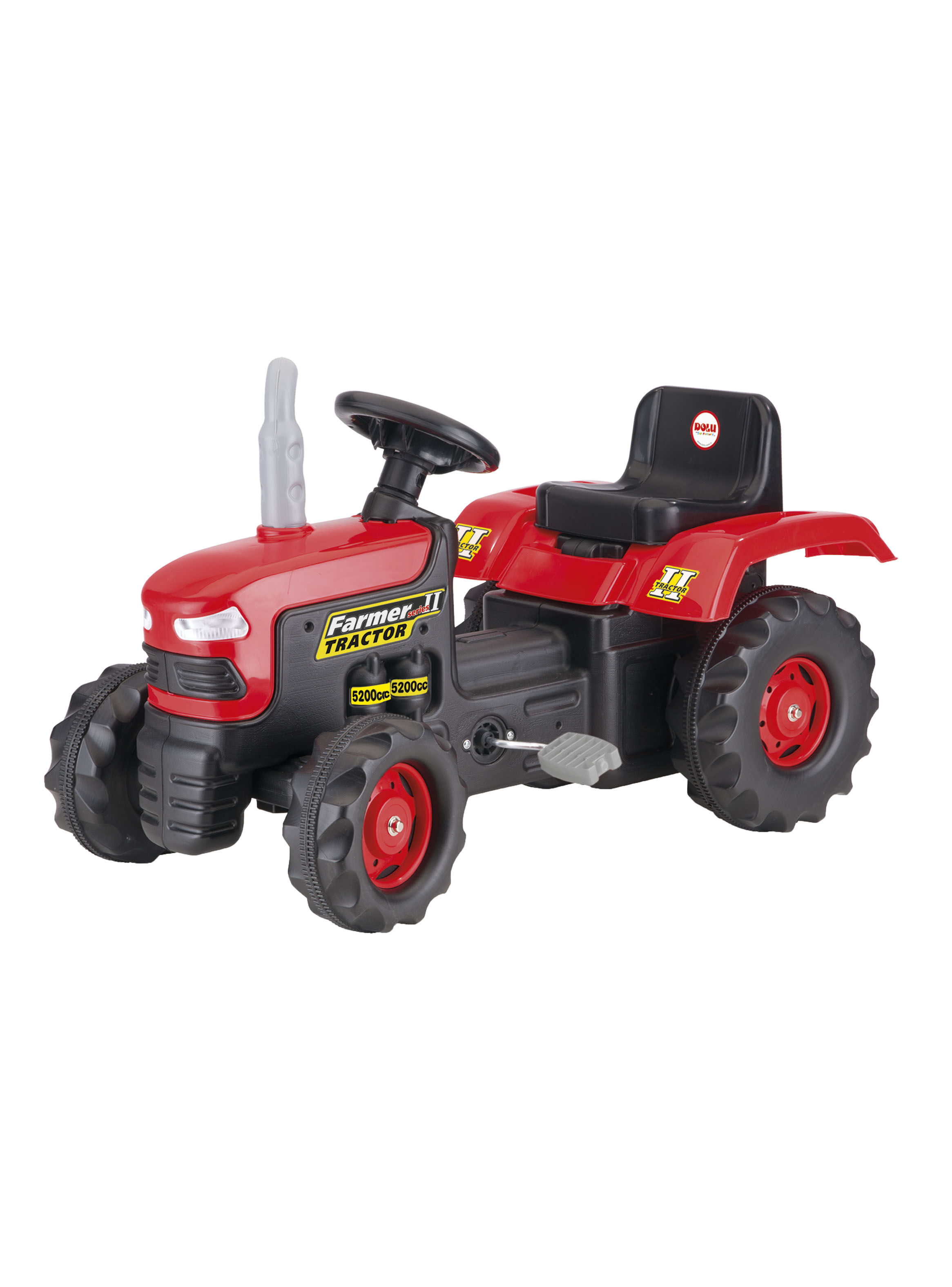 Tractor Rojo En TriciclosParis Dolu Pedales w0N8mn