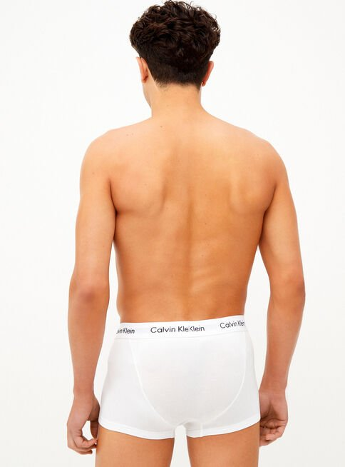 Boxer%20Low%20Rise%20Trunk%20Algod%C3%B3n%20Pack%203%20Calvin%20Klein%2CBlanco%2Chi-res