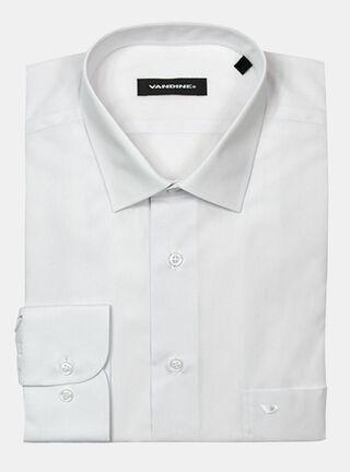 Camisa Slim Fit 33-34 Cuello Bolognia Vandine,Blanco,hi-res