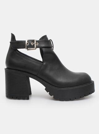 Zapato Casual Opposite Cut-Out Tacón,Negro,hi-res