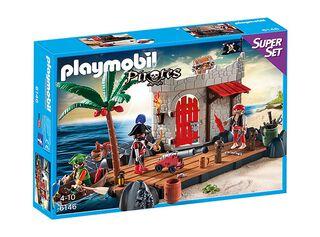 Super Set Fuerte Pirata Playmobil,,hi-res