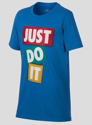 Polera Nike Training T-Shirt Niño,Azul Petróleo,hi-res