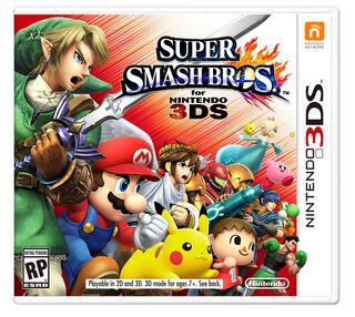 Juego Nintendo 3DS Super Smash Bros,,hi-res