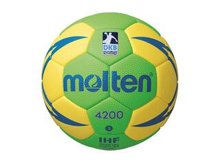 Pelota Handball 4200 N°2 Molten,Amarillo,hi-res