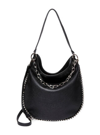 Cartera Hobo Bag Steve Madden BBeth Negra,Negro,hi-res