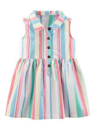 Vestido Niña 0 A 24 Meses Carter's,Granate,hi-res