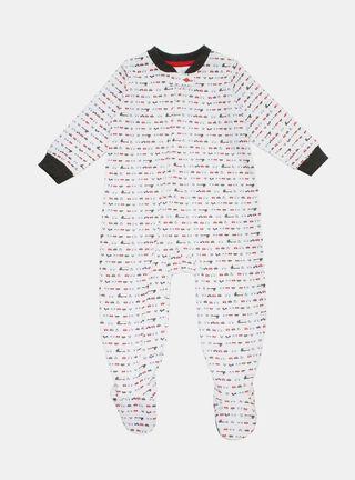 Pijama Tribu Auto Niño,Grafito,hi-res