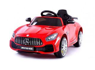 Auto Mercedes Benz Rojo con Batería Paris,,hi-res