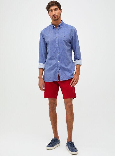 Camisa%20Algod%C3%B3n%20Lino%20Twill%20Tommy%20Hilfiger%2CAzul%2Chi-res
