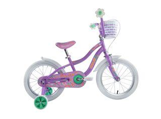 Bicicleta Infantil Caloi Jasmine Aro 16 Morado Hasta 120 cm,Morado,hi-res