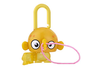 Figura Lock Stars Orange Fish Hasbro,,hi-res