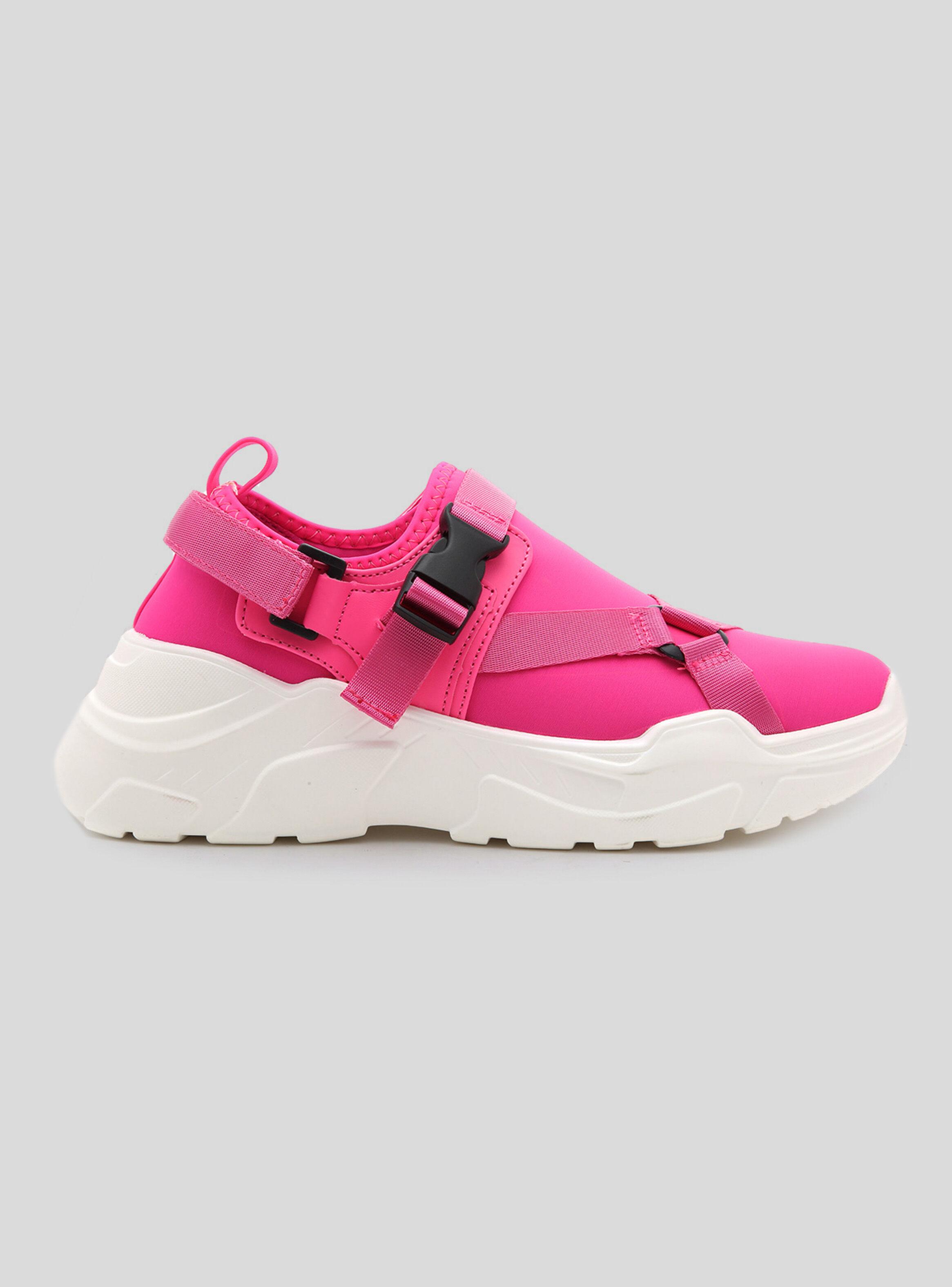 Fluor Colección Fucsia En Unique Desire Sport Zapato Mujer Chunky BCdxeo