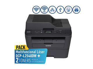 COMBO MULTIFUNCIONAL BROTHER DCPL2540DW + TÓNER TN2370