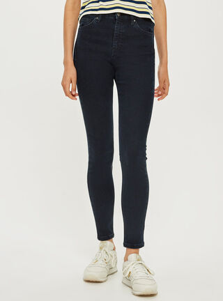 Jeans Jamie L30 Dark Blue Topshop,Único Color,hi-res