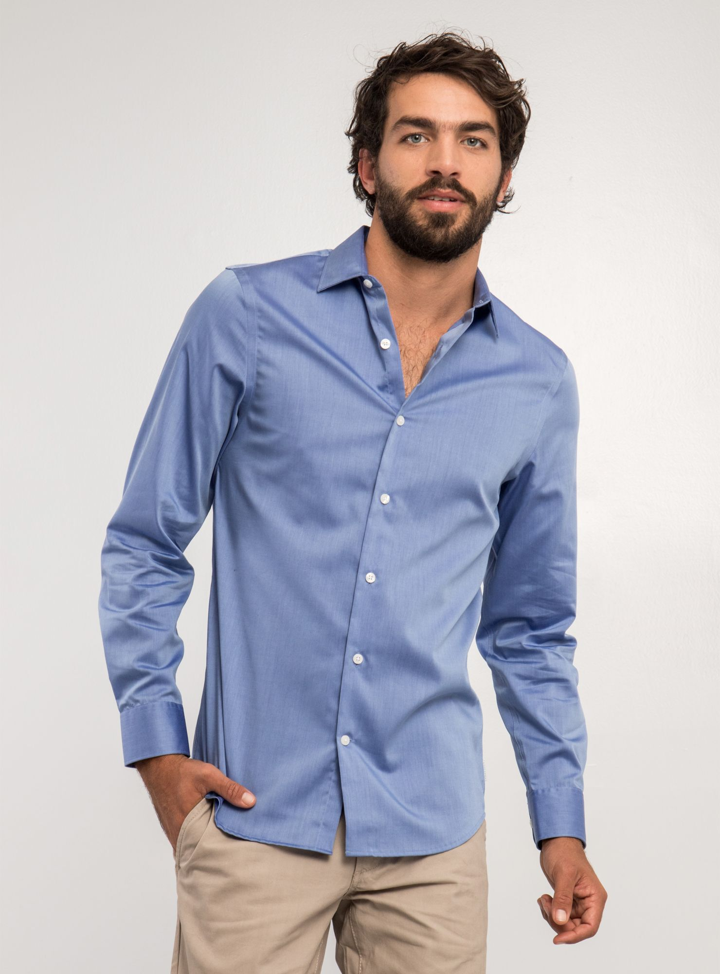16b474c7c6 Hombre Moda Hombre Camisas Camisa Non Iron Perry Ellis. Camisa%20Non%20Iron%20Perry%20Ellis%2CCeleste%2Chi-res  ...
