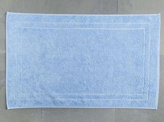 Toalla de Piso 50 x 80 cm Celeste 700 grs. Lourdes,,hi-res
