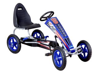 Go Kart a Pedales Grande Azul Kidscool,,hi-res