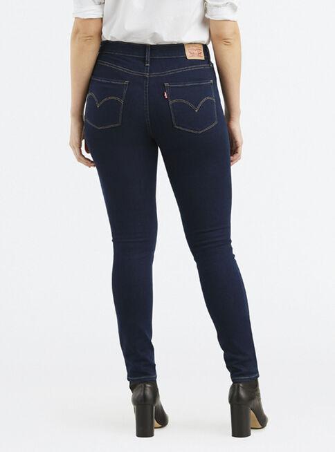Jeans Oscuros Tiro Alto Mujer Levi S Jeans Y Pantalones Paris Cl