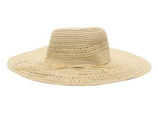 Sombrero Playa Alaniz Crudo Mujer,Camel,hi-res