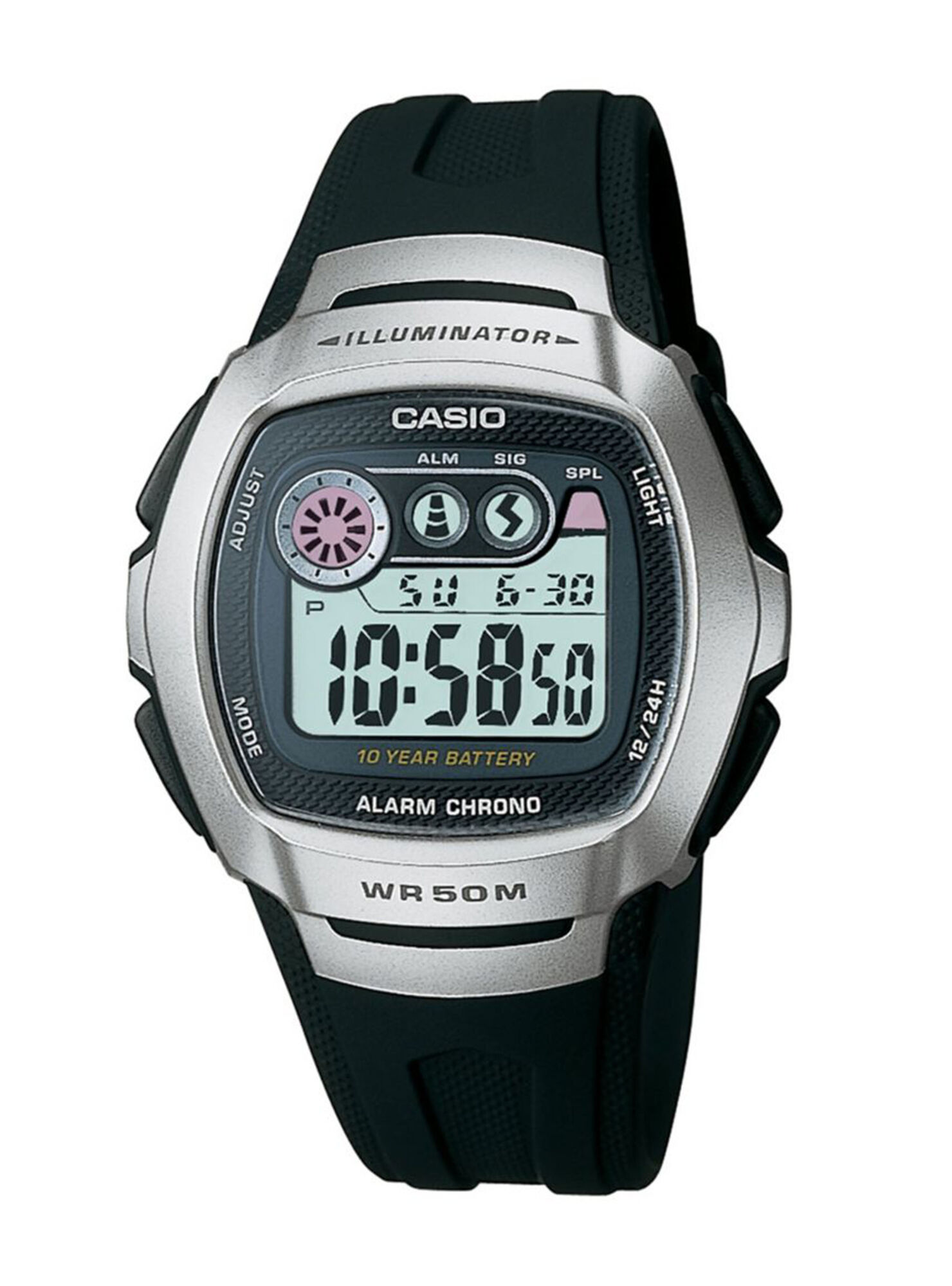 a5efe585bf8c Reloj Digital Casio W-210-1AVDF Hombre en Relojes