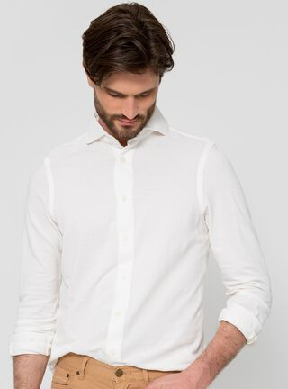 Camisa Micropiqué SavilleRow,Blanco,hi-res