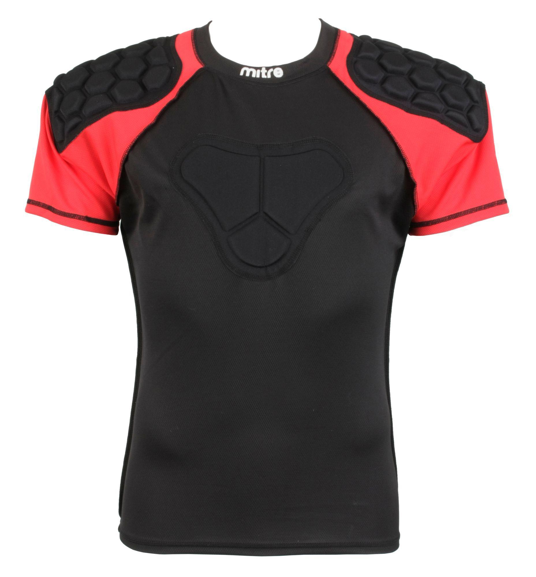 Negro Mitre Academy En Rugby Hombrera PolerasParis 1cKJTF3l