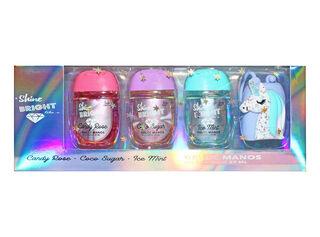 Set Gel Antibacterial Shine Bright Set Spa,,hi-res
