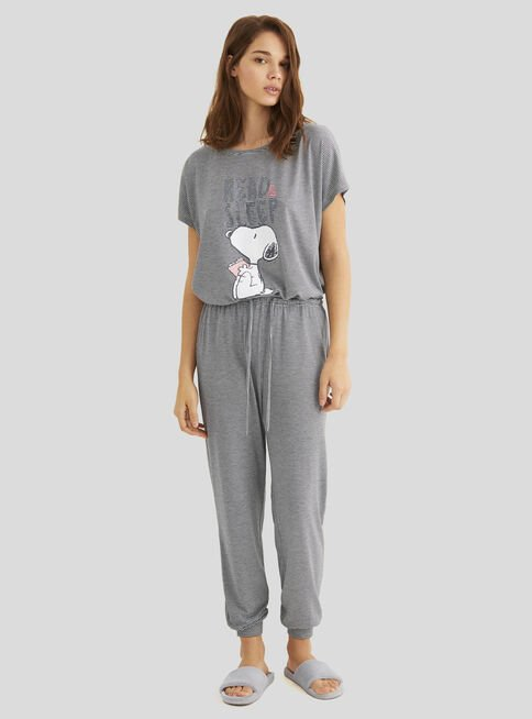 Pijama%20Soft%20Multilicense%20Snoopy%20Women'Secret%2CGris%20Perla%2Chi-res