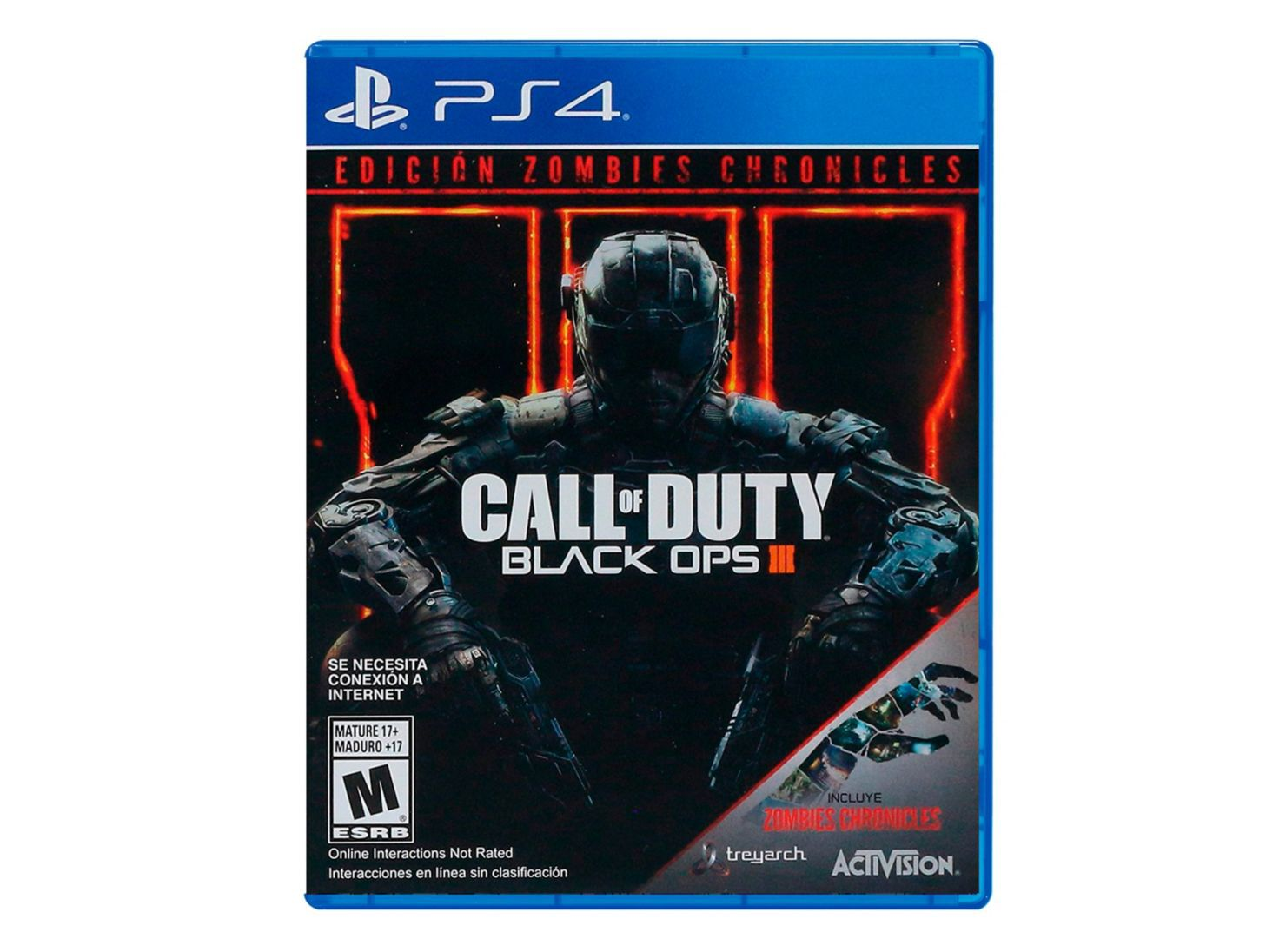 Juego Ps4 Call Of Duty Black Ops Iii Zombies Chronicles Juegos Ps4