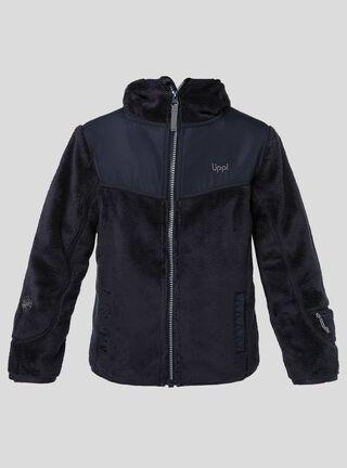 Chaqueta Niña Grillo Therm-Pro Hoody Jacket Lippi,Azul Oscuro,hi-res