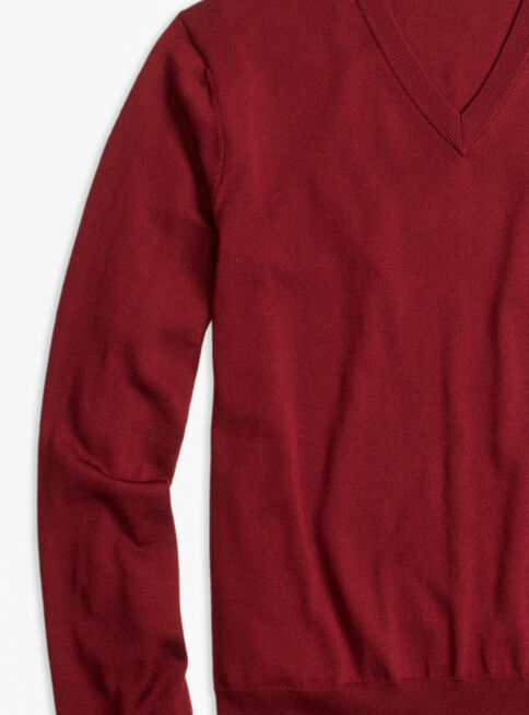 Sweater%20Rojo%20Cuello%20V%20Brooks%20Brothers%2CCaoba%2Chi-res