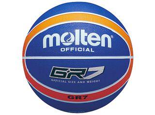 Balón Básquetbol Nº7 Azul Naranjo Molten,Azul Petróleo,hi-res