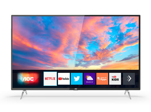 Led Smart Tv Aoc 50 Uhd 4k 50u6295 Televisores Led Paris Cl