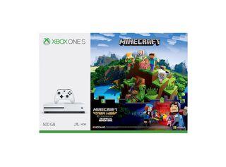 Consola Xbox One S 500GB + Juego Minecraft + Juego Disney Adventures + Juego Pixar Rush + Live 3 Meses,,hi-res