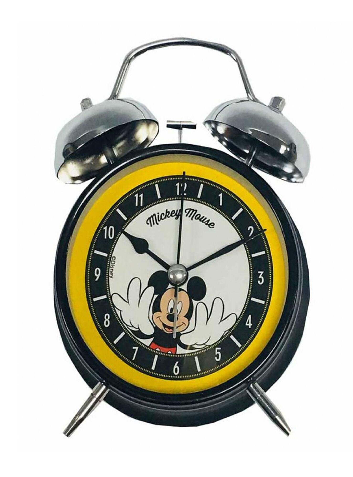 Reloj Despertador Análogo Grande Mickey Mouse - Relojes | Paris