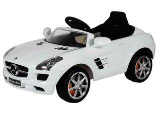 Auto SLS Blanco Mercedes Benz,,hi-res