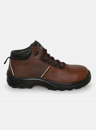 Zapato de Seguridad Nazca Thor Hombre,Café,hi-res