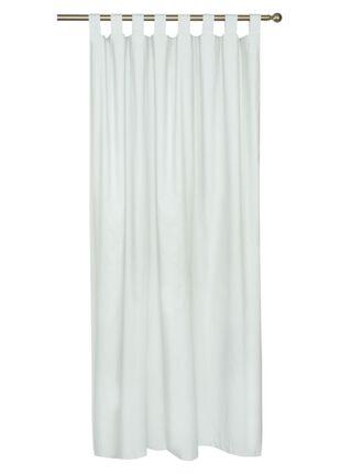 Cortina Chantilly Blackout Presillas 140x220 cm Ivory,,hi-res