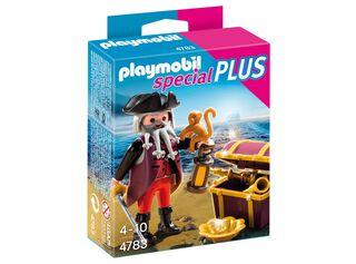 Pirata con Cofre del Tesoro Playmobil,,hi-res